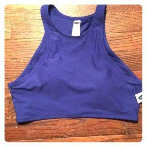 NWT Blue Bikini Top